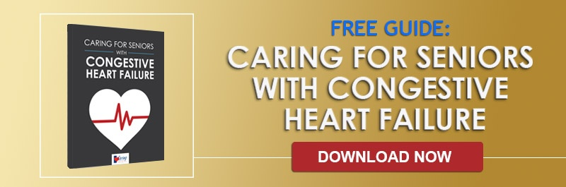 Caring for Seniors with CHF Guide Cover