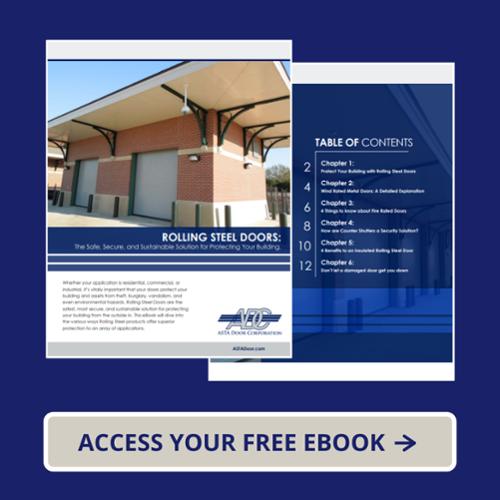 Click here to download eBook on Rolling Doors