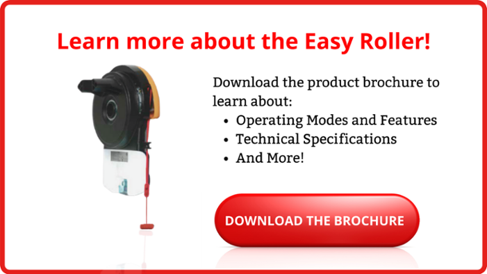Download the brochure for the Easy Roller automatic door operator