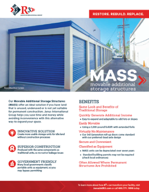 MASS Relocatable Storage unit brochure