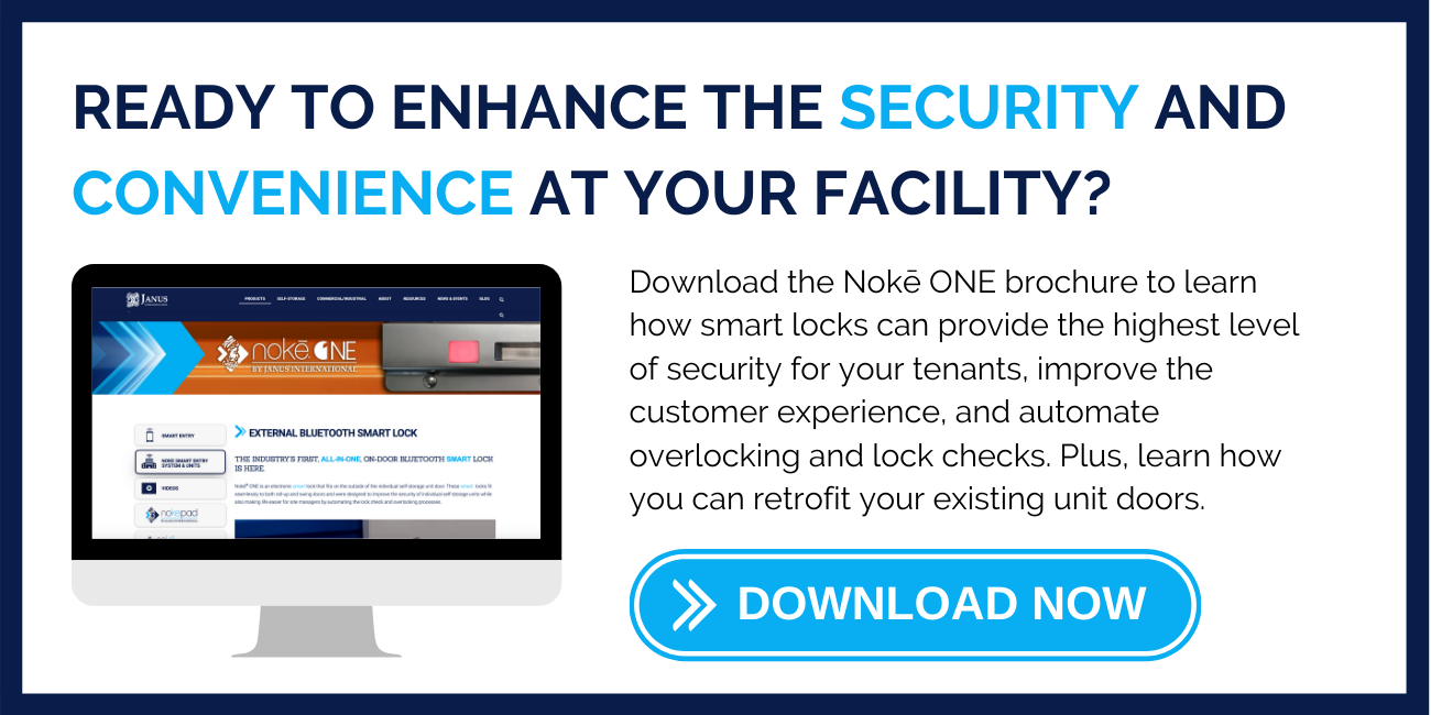 Ready to enhance the security and convenience at your facility? Download the FREE Noke ONE Brochure now.