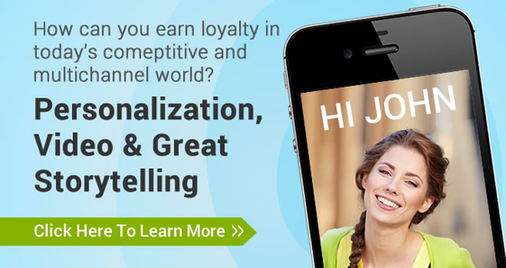 Earning loyalty with personalization video