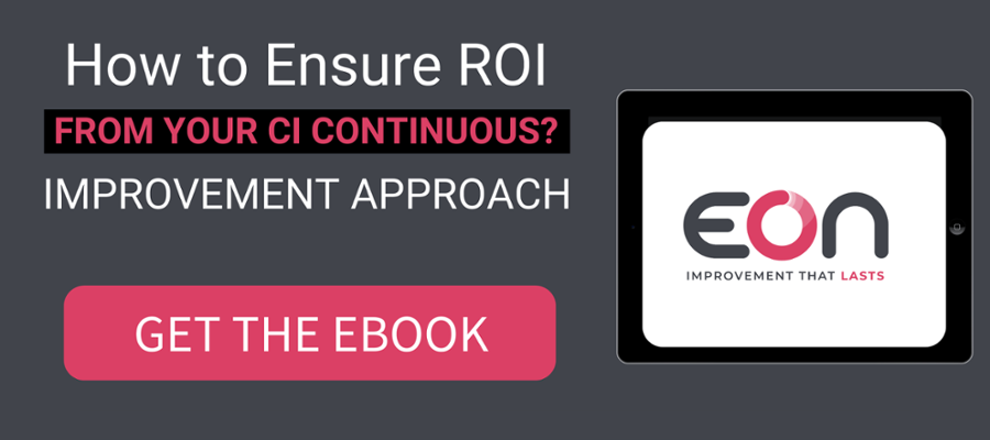 how to ensure roi from your continuous improvement approach ebook