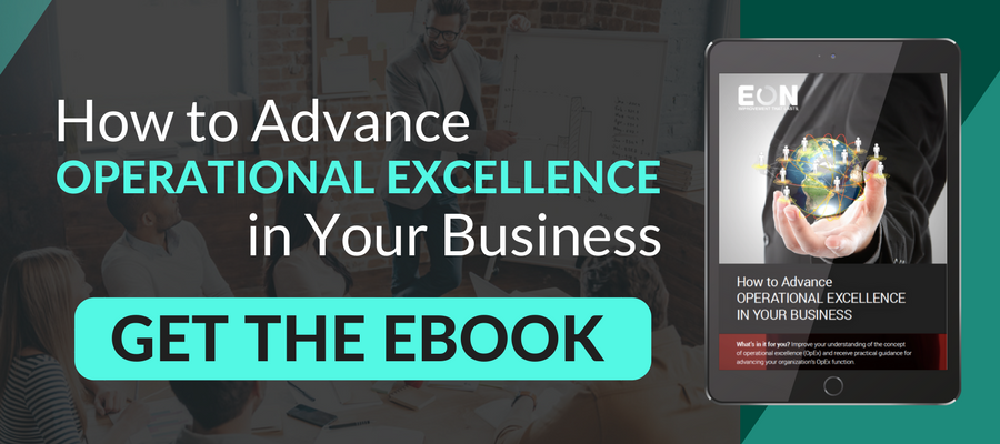 how to advance operational excellence in your business get the ebook