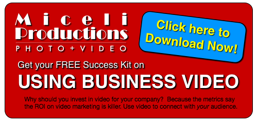 Download our Success Kit e-Book USING BUSINESS VIDEO