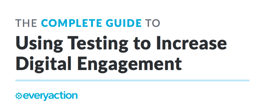 [Download] The Complete Guide to Using Testing to Increase Digital Engagement