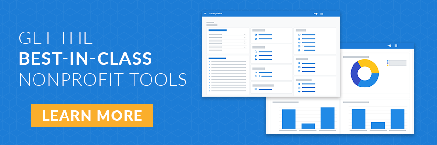 Get the best-in-class nonprofit tools (learn more)