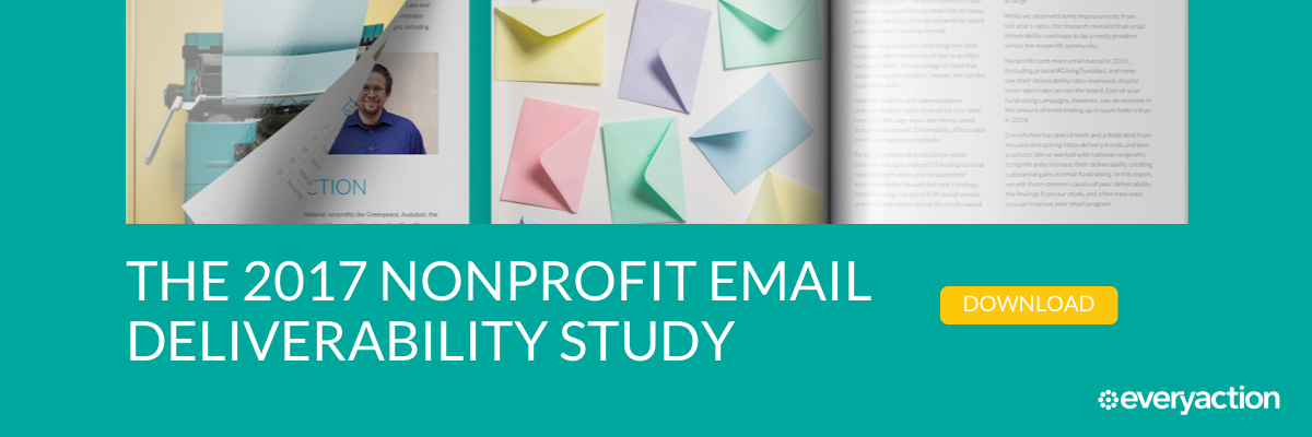 Download the Nonprofit Email Deliverability Study