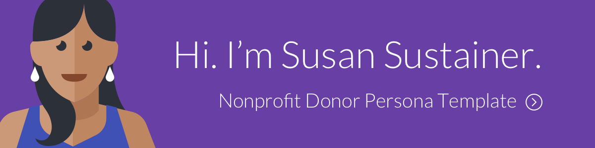 Download Nonprofit Donor Persona Template from EveryAction