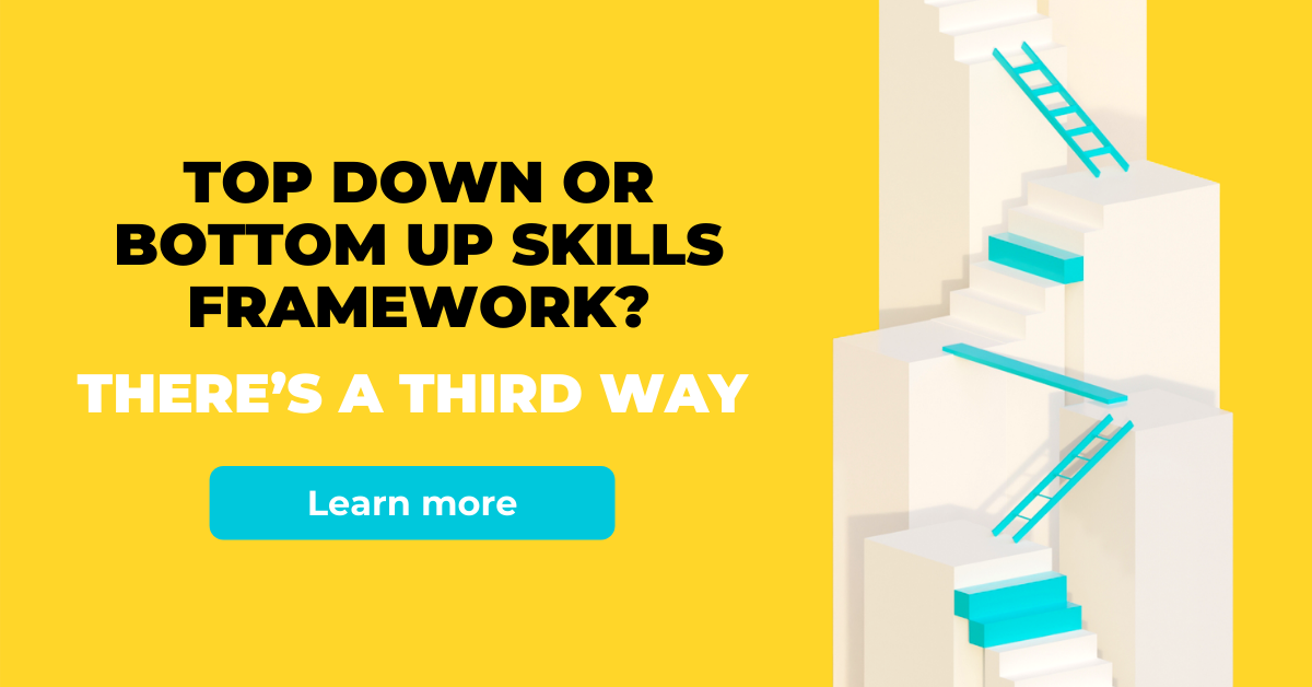 top down or bottom up skills framework
