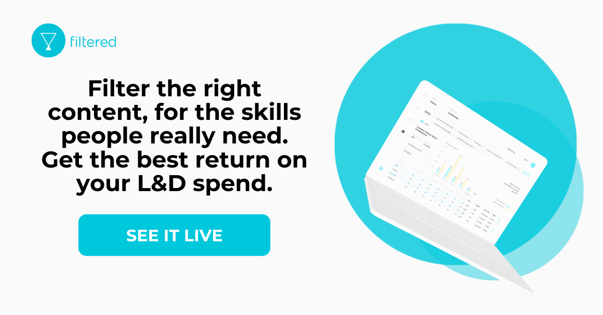 smart LXP Learning Experience Platform Filtered