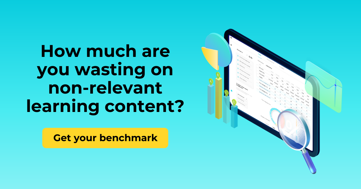 Free learning content library benchmark