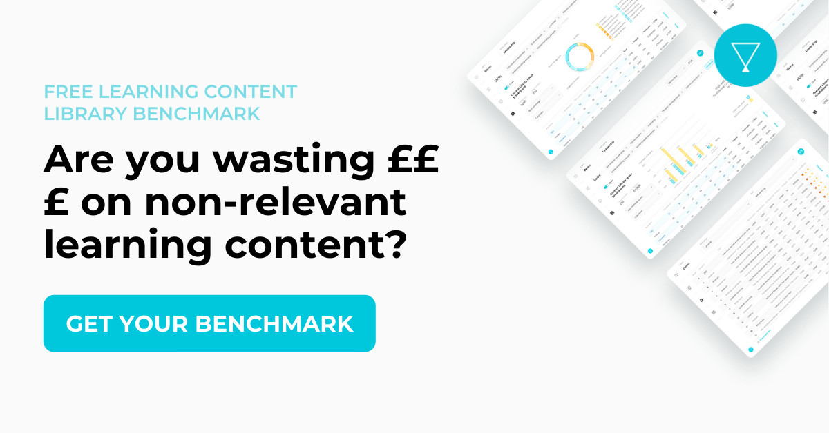 Learning content library benchmark