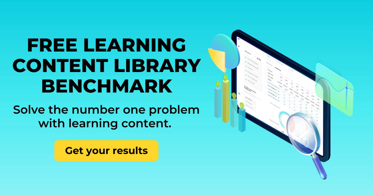 Blog CTA - Top blogs 2021 -  number one problem with learning content