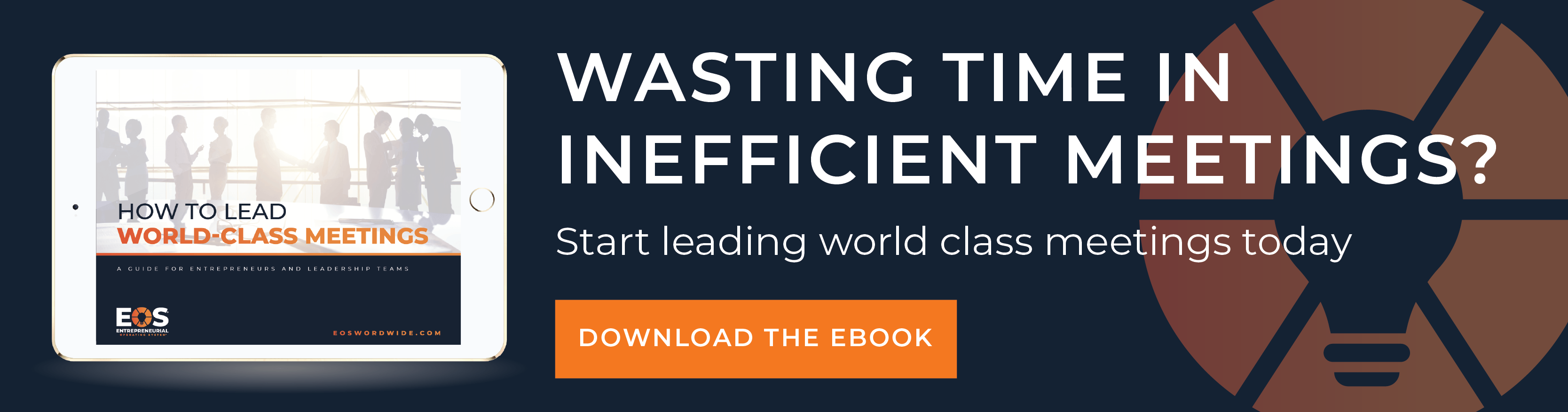 Learn How to Lead World-Class Meetings