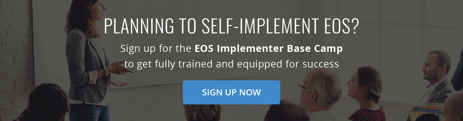 Planning to Self-implement Sign up for the EOS  Implementer Base Camp