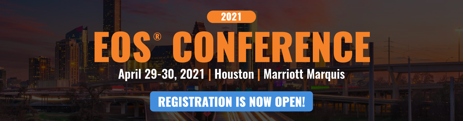Register for the 2021 EOS Conference