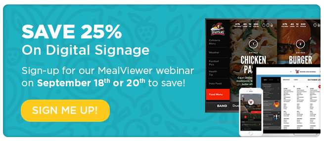 Save 25% On Digital Signage | Sign Me Up!