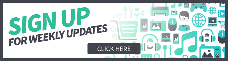 Sign Up For Weekly Updates