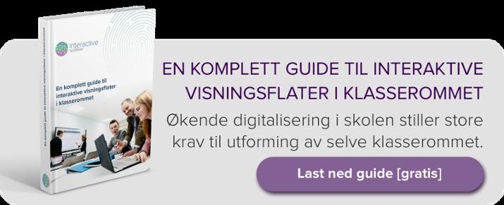 Banner, e-bok: En komplett guide til interaktive visningsflater i klasserommet.
