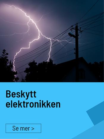Beskytt elektronikken