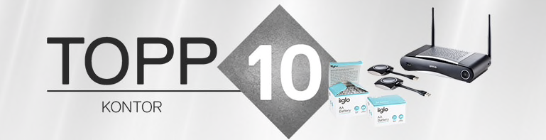 Topp 10 på kontoret