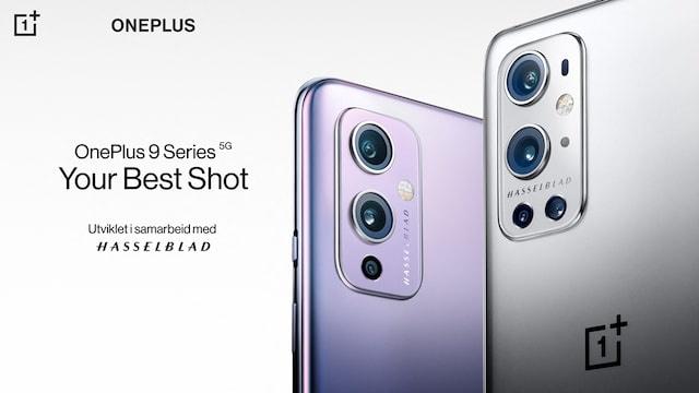 Sjekk ut OnePlus 9-serien på KomplettBedrift.no