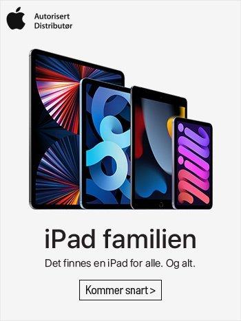 iPad - det finnes en iPad for alle, og alt!