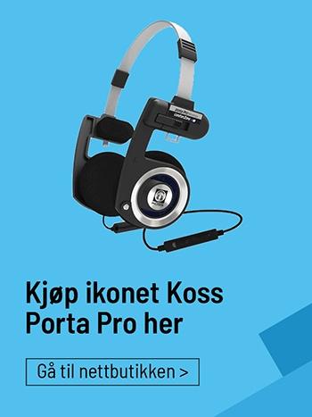 Kjøp ikonet Koss Porta Pro her