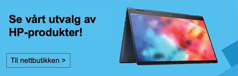 Se vårt utvalg av HP-produkter