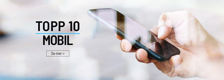 Topp 10 mobil Komplett Bedrift