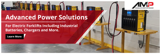 Advanced Power Solutions for Electric Forklifts, Batteries & Chargers