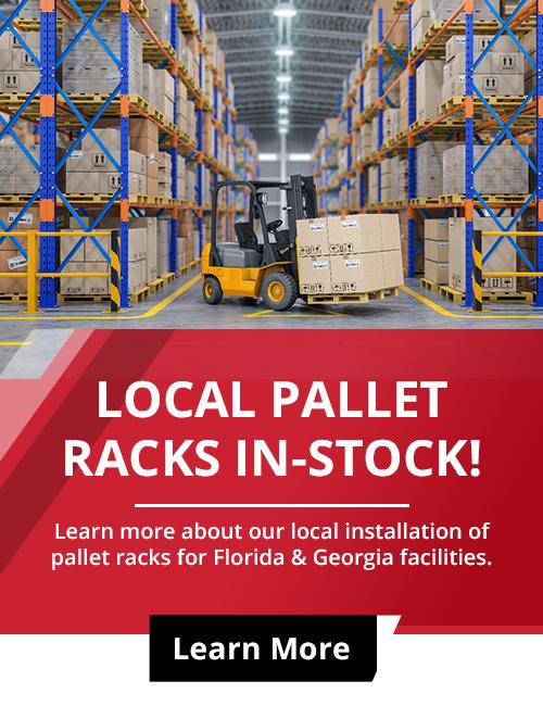 local pallet rack in stock