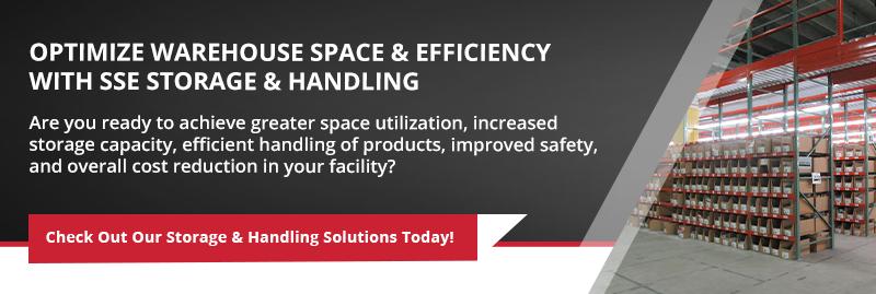 SSE storage & handling