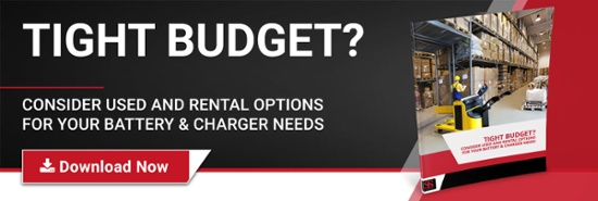 Battery & Charger rental options - Southern States Enterprises