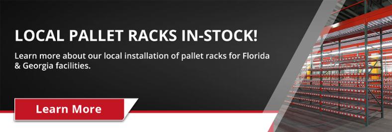 pallet rack in stock
