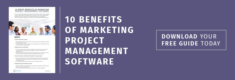 10 Benefits of Marketing Project Management Software