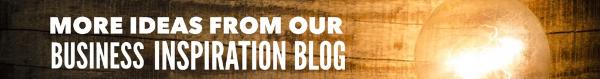 Business inspiration blog