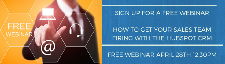 The Kingdom Adelaide Free Webinar sign up get your sales team firing with the Hubspot CRM