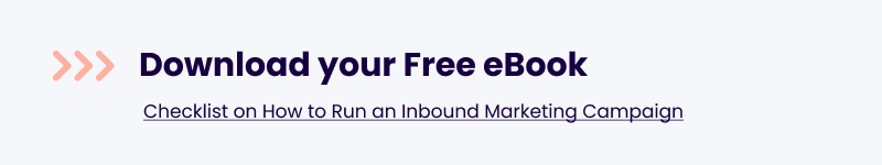 Free Checklist: How to run an Inbound Marketing Campaign Free eBook