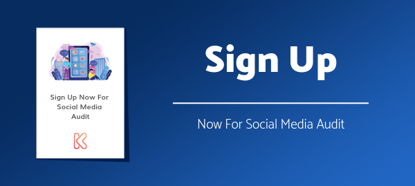Sign Up For Free Social Media Audit