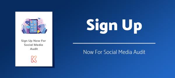 Sign Up For Free Social Media Audit