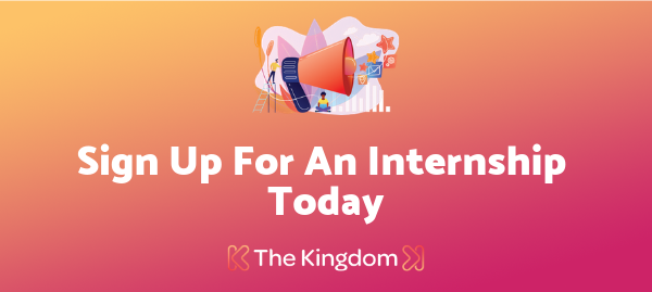 The Kingdom is Hiring