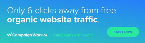 Campaign Warrior New Website