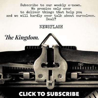 The Kingdom subscribe to newsletter