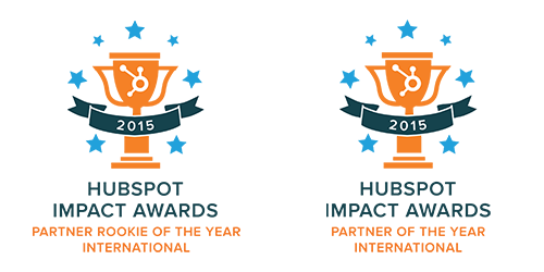 HubSpot Impact Awards - International Partner Rookie and Partner of the Year