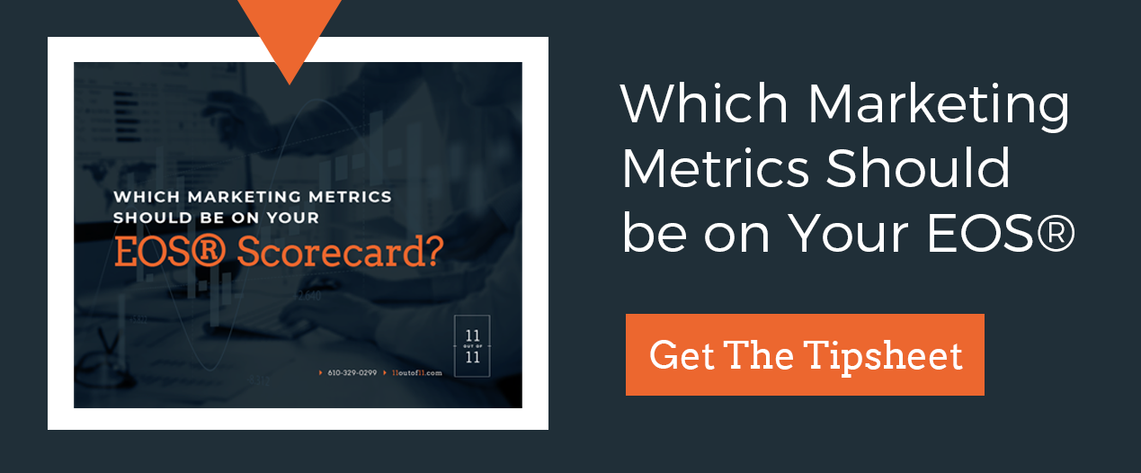 what metrics should be on your EOS scorecard