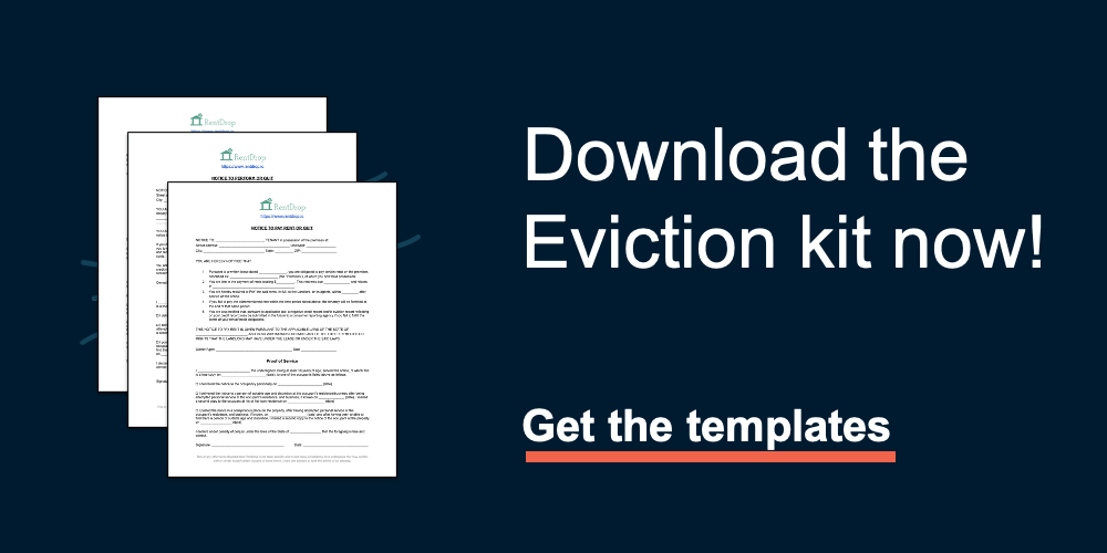 rentdrop eviction kit download templates