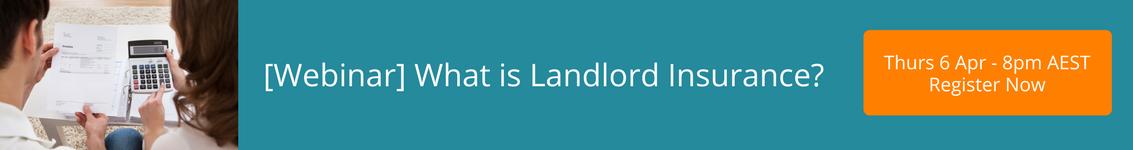 Landlord Insurance webinar