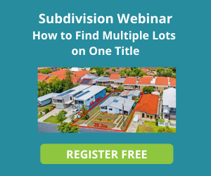 Subdivision Webinar